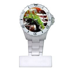 Collosium   Swards And Helmets 3 Plastic Nurses Watch by bestdesignintheworld