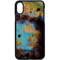 Blue Options 5 Apple Iphone X Seamless Case (black)