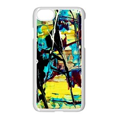Dance Of Oil Towers 3 Apple Iphone 7 Seamless Case (white) by bestdesignintheworld