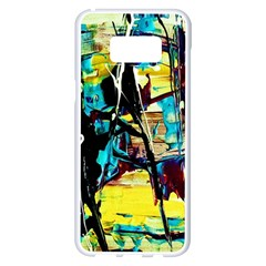 Dance Of Oil Towers 3 Samsung Galaxy S8 Plus White Seamless Case by bestdesignintheworld