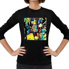 Dance Of Oil Towers 4 Women s Long Sleeve Dark T-shirts by bestdesignintheworld
