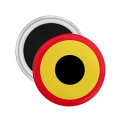 Roundel Of Belgian Air Force 2 25  Magnets