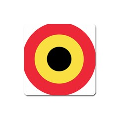 Roundel Of Belgian Air Force Square Magnet by abbeyz71
