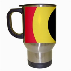 Roundel Of Belgian Air Force Travel Mugs (white) by abbeyz71