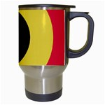 Roundel of Belgian Air Force Travel Mugs (White) Right