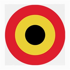 Roundel Of Belgian Air Force Medium Glasses Cloth by abbeyz71