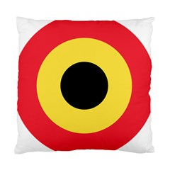 Roundel Of Belgian Air Force Standard Cushion Case (two Sides) by abbeyz71