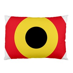 Roundel Of Belgian Air Force Pillow Case (two Sides) by abbeyz71