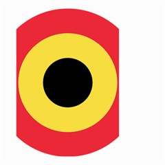 Roundel Of Belgian Air Force Small Garden Flag (two Sides) by abbeyz71