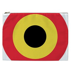Roundel Of Belgian Air Force Cosmetic Bag (xxl)  by abbeyz71