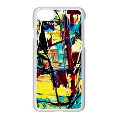 Dance Of Oil Towers 4 Apple Iphone 8 Seamless Case (white) by bestdesignintheworld