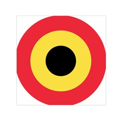 Roundel Of Belgian Air Force Small Satin Scarf (square) by abbeyz71