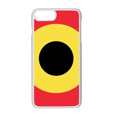 Roundel Of Belgian Air Force Apple Iphone 7 Plus Seamless Case (white) by abbeyz71