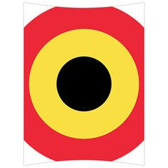 Roundel Of Belgian Air Force Back Support Cushion by abbeyz71