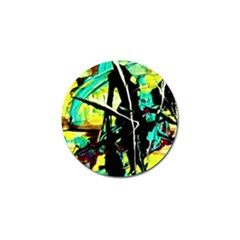 Dance Of Oil Towers 5 Golf Ball Marker (4 Pack) by bestdesignintheworld