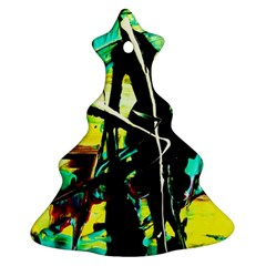 Dance Of Oil Towers 5 Christmas Tree Ornament (two Sides) by bestdesignintheworld