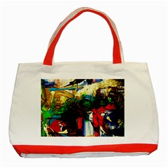 Catalina Island Not So Far 6 Classic Tote Bag (red) by bestdesignintheworld
