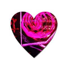 Calligraphy 2 Heart Magnet by bestdesignintheworld