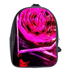 Calligraphy 2 School Bag (large) by bestdesignintheworld