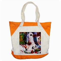 Doves Match 1 Accent Tote Bag by bestdesignintheworld