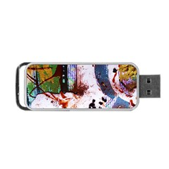 Doves Match 1 Portable Usb Flash (one Side) by bestdesignintheworld