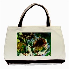 Doves Matchmaking 1 Basic Tote Bag by bestdesignintheworld