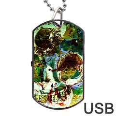 Doves Matchmaking 1 Dog Tag Usb Flash (one Side) by bestdesignintheworld