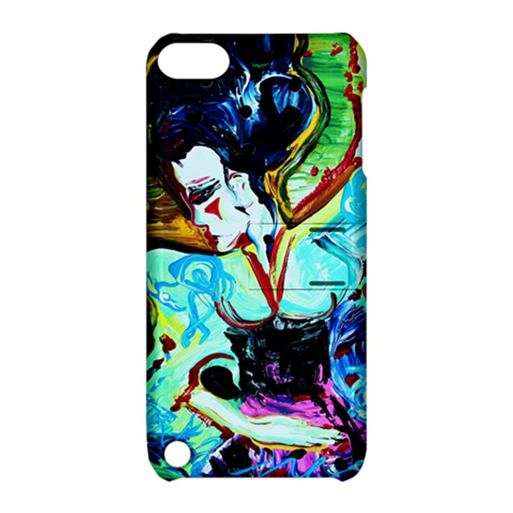 Woman Spirit Apple iPod Touch 5 Hardshell Case with Stand