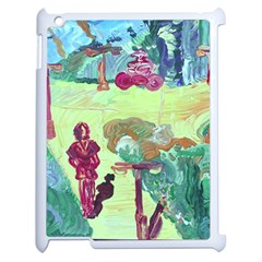 Trail 1 Apple Ipad 2 Case (white) by bestdesignintheworld