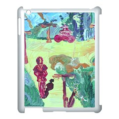 Trail 1 Apple Ipad 3/4 Case (white) by bestdesignintheworld