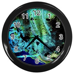 Blue Options 6 Wall Clocks (black) by bestdesignintheworld