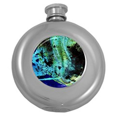 Blue Options 6 Round Hip Flask (5 Oz) by bestdesignintheworld