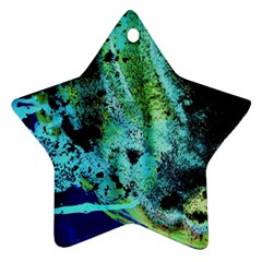 Blue Options 6 Star Ornament (two Sides) by bestdesignintheworld