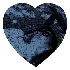 ?? ????????   On A Bench Jigsaw Puzzle (heart) by bestdesignintheworld