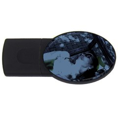 ?? ????????   On A Bench Usb Flash Drive Oval (4 Gb) by bestdesignintheworld
