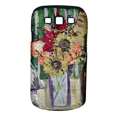 Sunflowers And Lamp Samsung Galaxy S Iii Classic Hardshell Case (pc+silicone) by bestdesignintheworld