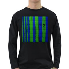 Stripes Long Sleeve Dark T-shirts by bestdesignintheworld