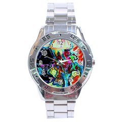 Still Life With Two Lamps Stainless Steel Analogue Watch by bestdesignintheworld