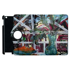 Still Life With Tangerines And Pine Brunch Apple Ipad 2 Flip 360 Case by bestdesignintheworld
