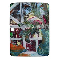 Still Life With Tangerines And Pine Brunch Samsung Galaxy Tab 3 (10 1 ) P5200 Hardshell Case  by bestdesignintheworld