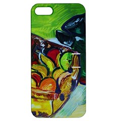 Still Life With A Pig Bank Apple Iphone 5 Hardshell Case With Stand by bestdesignintheworld