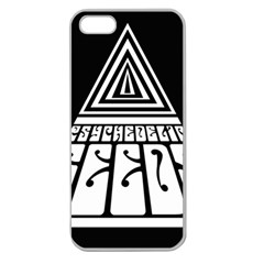 Psychedelic Seeds Logo Apple Seamless Iphone 5 Case (clear) by Samandel