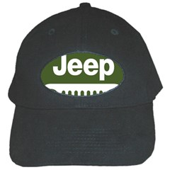 Only In A Jeep Logo Black Cap