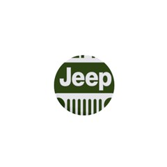Only In A Jeep Logo 1  Mini Magnets