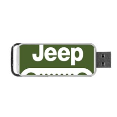 Only In A Jeep Logo Portable Usb Flash (one Side)