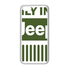 Only In A Jeep Logo Apple Iphone 5c Seamless Case (white)
