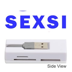 Sexsi Sexy Logo Memory Card Reader (stick)  by Samandel