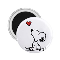 Snoopy Love 2 25  Magnets