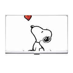 Snoopy Love Business Card Holders by Samandel