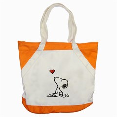 Snoopy Love Accent Tote Bag